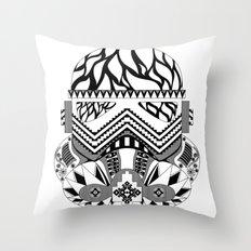 Don Stormtrooper Throw Pillow