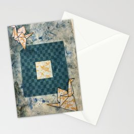 Origami Cranes Stationery Cards