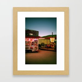 The pink chariot Framed Art Print