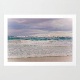 Punta Cana sea 2 Art Print