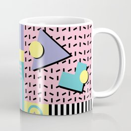 Memphis Pattern 27 - 80s - 90s Retro / 1st year anniversary design Coffee Mug