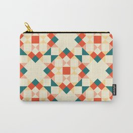 Bright Quilt Pattern Carry-All Pouch