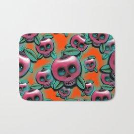 Cute Skull Apple Bath Mat