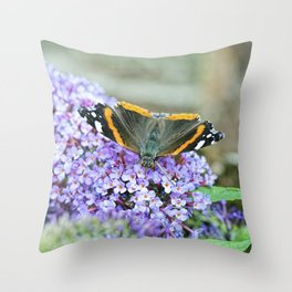 Butterfly III Throw Pillow