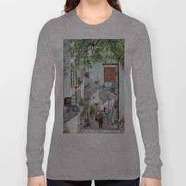 Clovelly, Devon. Long Sleeve T-shirt