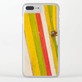Color Coated Clear iPhone Case