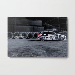 Porsche Cayenne S - Techart Magnum Metal Print