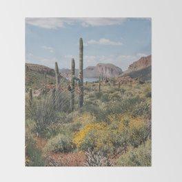 Arizona Spring Throw Blanket