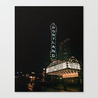 portlandia Canvas Prints featuring Portland by Max Rivet