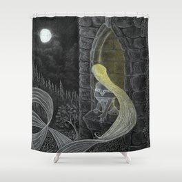 Rapunzel by Night Shower Curtain