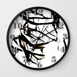 Paint Peeling Wall Clock