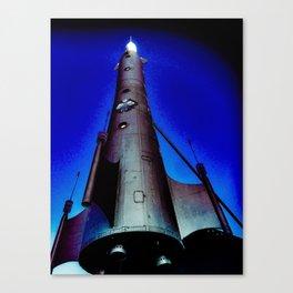 Fremont Rocket, Seattle Canvas Print