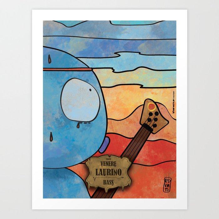 Laurino from Venus (Bass) Art Print