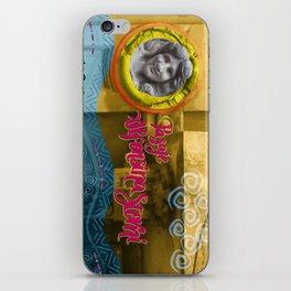 Alfonsina iPhone Skin