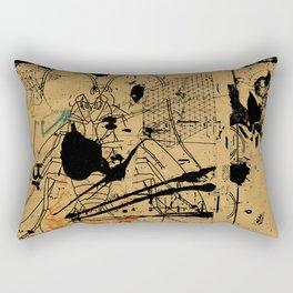 dithering 17 Rectangular Pillow