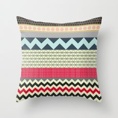 London Beauty stripe Throw Pillow