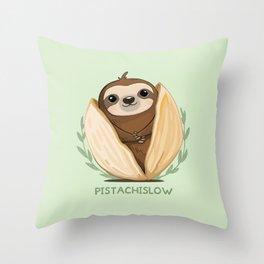 Pistachislow Throw Pillow