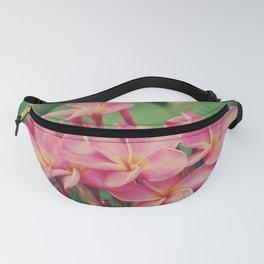 Plumeria or Frangipani flower: Spring is Here II Fanny Pack