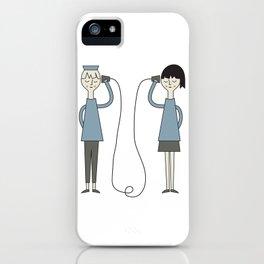 Hallo! iPhone Case