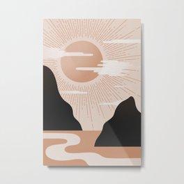 Morning rise 1 Metal Print