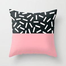 Memphis pattern 24 Throw Pillow