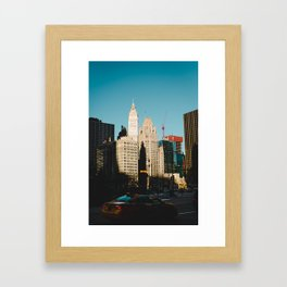 Retro Chicago Framed Art Print