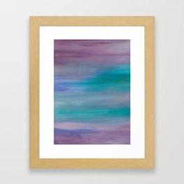 Ocean Mermaid Series 1 Framed Art Print