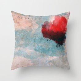 Watercolor Love Throw Pillow