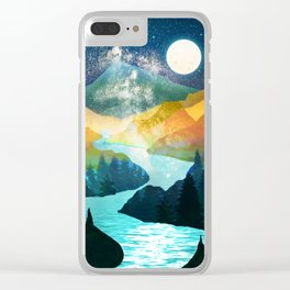 Under the Starlight Clear iPhone Case