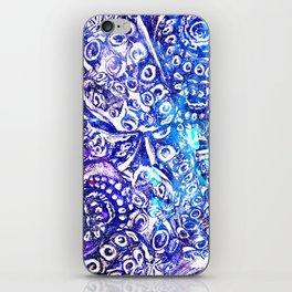 Octopus Tentacles Cool Blues iPhone Skin