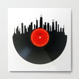 Chicago Record Metal Print