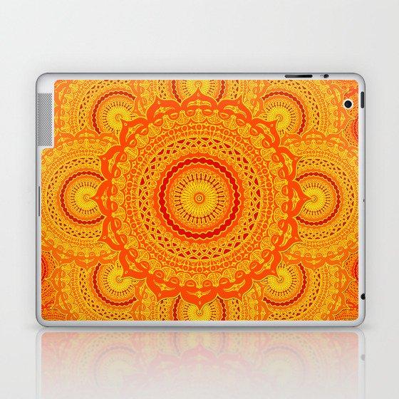 omulyána dancing gallery mandala Laptop & iPad Skin