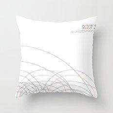 ROOT 3 Throw Pillow