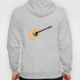12 String Acoustic Guitar Hoody