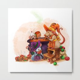 Caramel Witches Brew Metal Print