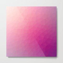 Purple flakes. Copos morados. Flocons pourpres. Lila flocken. Фиолетовые хлопья. Metal Print