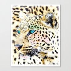 Fashion Leopard Canvas Print