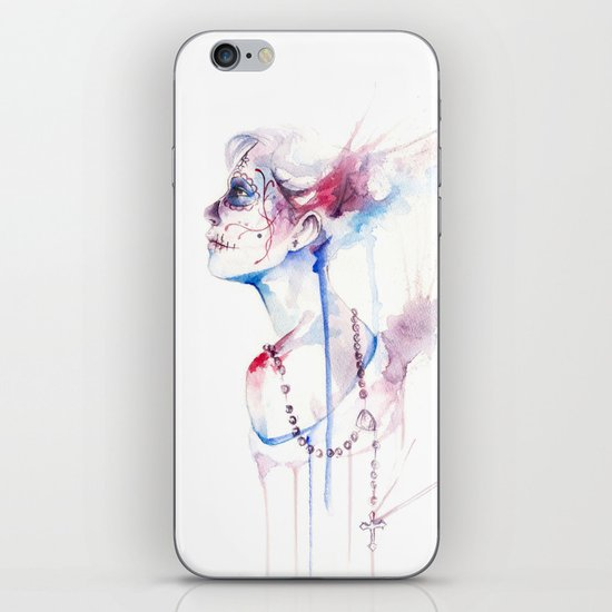 Prayer iPhone & iPod Skin