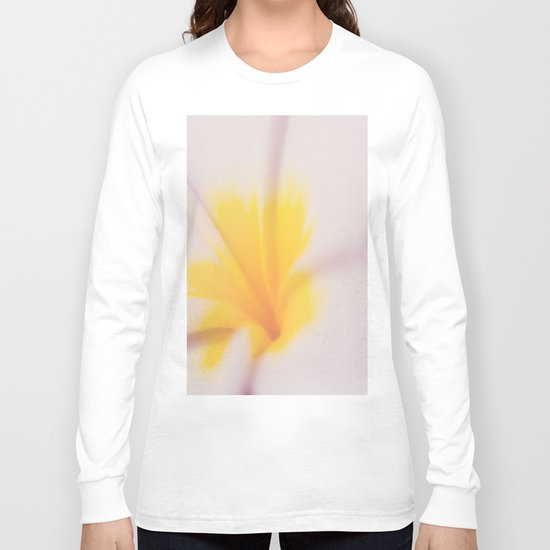 Yellow & Pink Long Sleeve T-shirt