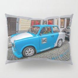 Retro car Pillow Sham