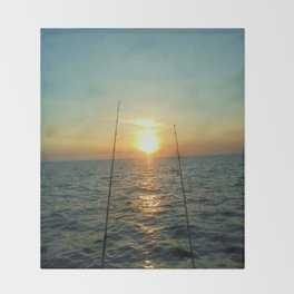 FISHING Throw Blanket