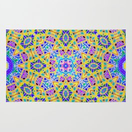 Persian kaleidoscopic Mosaic G521 Rug