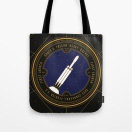 Falcon Heavy Tote Bag