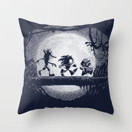 Jumpmen Throw Pillow