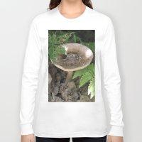 mushroom Long Sleeve T-shirts featuring Mushroom by Kelsey Adams
