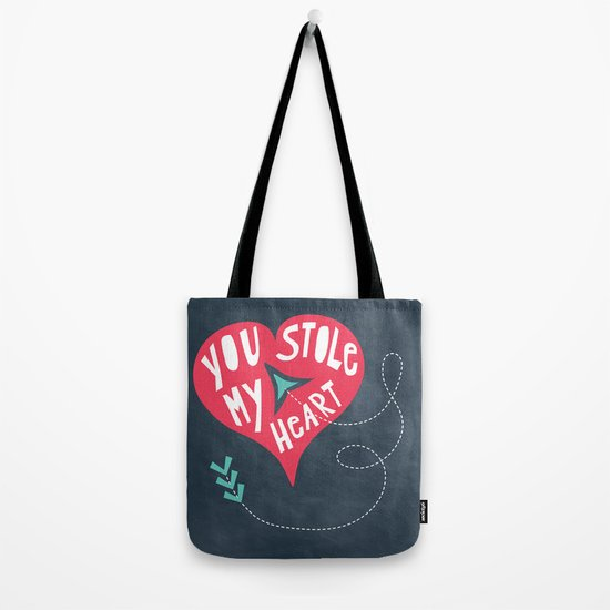 You Stole My Heart Tote Bag