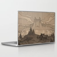 skyrim Laptop & iPad Skins featuring Karstaag by Hieronymus7Z