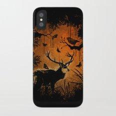 Lost Deer Slim Case iPhone X