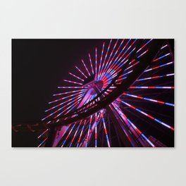 Santa Monica Lights Canvas Print