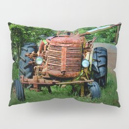 Abandoned Farm Tractor Pillow Sham